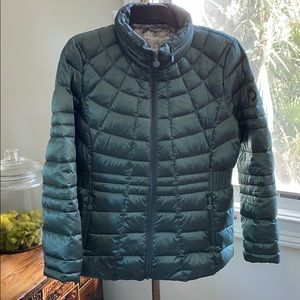 Bernardo Down & Primaloft Metallic Green Jacket XL